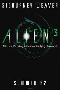 Alien 3 - Poster / Capa / Cartaz - Oficial 1