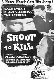 Shoot to Kill - Poster / Capa / Cartaz - Oficial 2