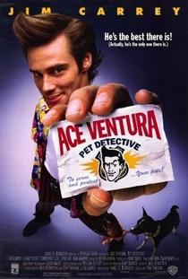 Ace Ventura: Um Detetive Diferente - Poster / Capa / Cartaz - Oficial 1