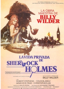 A Vida Íntima de Sherlock Holmes - Poster / Capa / Cartaz - Oficial 3