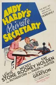A Secretária de Andy Hardy - Poster / Capa / Cartaz - Oficial 1