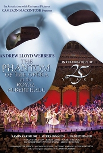 O Fantasma da Ópera No Royal Albert Hall - Poster / Capa / Cartaz - Oficial 2