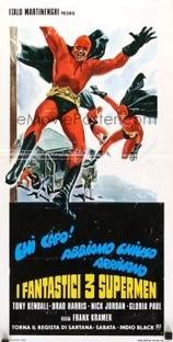 Os 3 Fantásticos Super Homens - Poster / Capa / Cartaz - Oficial 3