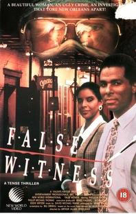 A Falsa Testemunha - Poster / Capa / Cartaz - Oficial 1