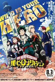 Boku no Hero Academia: Os Dois Heróis - Poster / Capa / Cartaz - Oficial 2