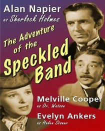 """""""Your Show Time"""": The Adventure of the Speckled Band - Poster / Capa / Cartaz - Oficial 1"""