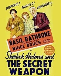 Sherlock Holmes e a Arma Secreta - Poster / Capa / Cartaz - Oficial 5