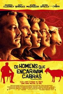 Os Homens Que Encaravam Cabras - Poster / Capa / Cartaz - Oficial 4