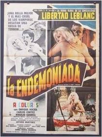 La Endemoniada - Poster / Capa / Cartaz - Oficial 2