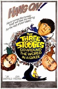 Os Três Patetas: A Volta ao Mundo em 80 Risadas - Poster / Capa / Cartaz - Oficial 1