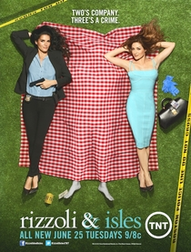 Rizzoli and Isles (4ª Temporada) - Poster / Capa / Cartaz - Oficial 1