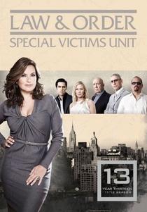 Law & Order: Special Victims Unit (13ª Temporada) - Poster / Capa / Cartaz - Oficial 1