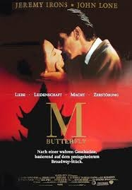 M. Butterfly - Poster / Capa / Cartaz - Oficial 5