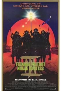 As Tartarugas Ninja III - Poster / Capa / Cartaz - Oficial 1