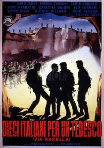 Dez Italianos para um Alemão (Via Rasella) - Poster / Capa / Cartaz - Oficial 1
