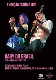 Estúdio MTV - Baby do Brasil - Poster / Capa / Cartaz - Oficial 1