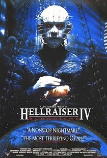 Hellraiser IV - Herança Maldita - Poster / Capa / Cartaz - Oficial 3
