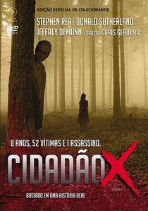 Cidadão X - Poster / Capa / Cartaz - Oficial 3