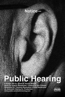 Audiência Pública - Poster / Capa / Cartaz - Oficial 1