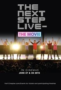 The Next Step Live - O filme - Poster / Capa / Cartaz - Oficial 1