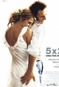 O Amor em 5 Tempos - Poster / Capa / Cartaz - Oficial 1