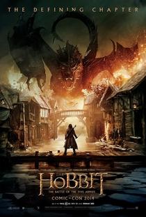 O Hobbit: A Batalha dos Cinco Exércitos - Poster / Capa / Cartaz - Oficial 1