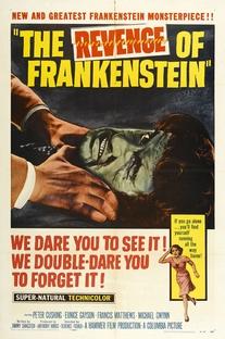 A Vingança de Frankenstein - Poster / Capa / Cartaz - Oficial 1