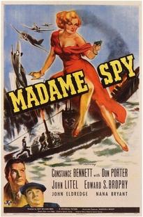 Madame Spy - Poster / Capa / Cartaz - Oficial 1