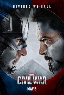 Capitão América: Guerra Civil - Poster / Capa / Cartaz - Oficial 5