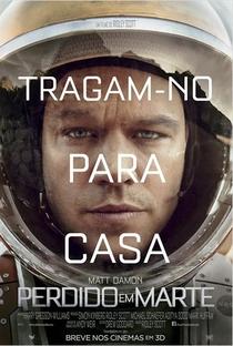 Perdido em Marte - Poster / Capa / Cartaz - Oficial 5