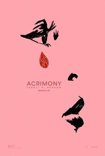 Acrimônia - Poster / Capa / Cartaz - Oficial 2