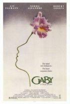 Gaby - Uma História Verdadeira - Poster / Capa / Cartaz - Oficial 4