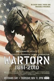 Traumas de Guerra: 1861 - 2010 - Poster / Capa / Cartaz - Oficial 1