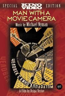 Um Homem Com uma Câmera - Poster / Capa / Cartaz - Oficial 9