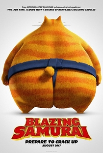 Blazing Samurai - Poster / Capa / Cartaz - Oficial 1