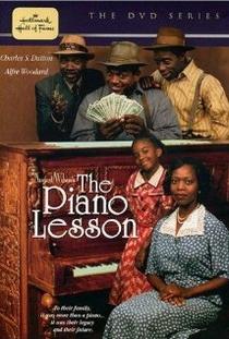 A Aula de Piano - Poster / Capa / Cartaz - Oficial 1