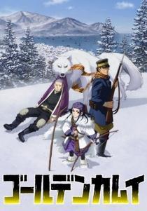 Golden Kamuy (1ª Temporada) - Poster / Capa / Cartaz - Oficial 1