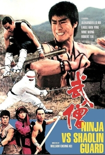 Ninja Contra Shaolin  - Poster / Capa / Cartaz - Oficial 2