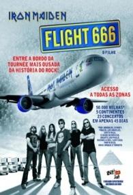 Iron Maiden: Vôo 666 - Poster / Capa / Cartaz - Oficial 1