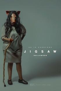 Jogos Mortais: Jigsaw - Poster / Capa / Cartaz - Oficial 6