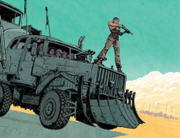 """""""Mad Max: Estrada da Fúria"""" ganha homenagem de artistas da Vertigo"""