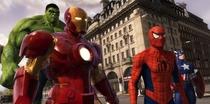 Marvel Super Heroes 4D - Londres - Poster / Capa / Cartaz - Oficial 1
