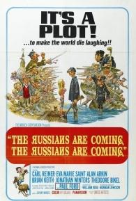 Os Russos Estão Chegando! Os Russos Estão Chegando! - Poster / Capa / Cartaz - Oficial 1