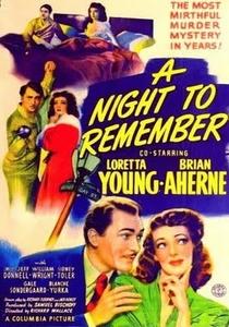 Uma Noite Inesquecível - Poster / Capa / Cartaz - Oficial 1