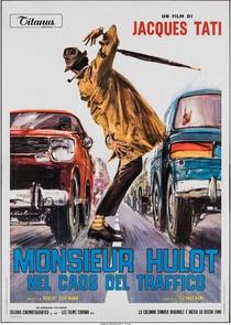 As Aventuras de M. Hulot no Tráfego Louco - Poster / Capa / Cartaz - Oficial 9