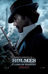 Sherlock Holmes: O Jogo de Sombras - Poster / Capa / Cartaz - Oficial 8