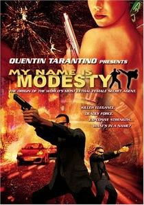 Meu Nome é Modesty Blaise - Poster / Capa / Cartaz - Oficial 1