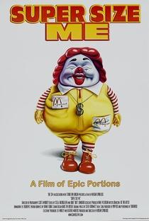 Super Size Me - A Dieta do Palhaço - Poster / Capa / Cartaz - Oficial 2