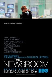 The Newsroom (1ª Temporada) - Poster / Capa / Cartaz - Oficial 1