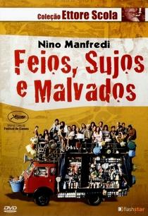 Feios, Sujos e Malvados - Poster / Capa / Cartaz - Oficial 8